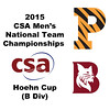 2015 MCSA Team Championships -  Hoehn Cup: Tyler Osborne (Princeton) and	Ahmed Hatata (Bates)