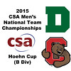 2015 MCSA Team Championships -  Hoehn Cup: Jack Harvey (Dartmouth) and August Jones (Cornell)