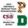 2015 MCSA Team Championships -  Hoehn Cup: Jarryd Osborne (Princeton) and Kyle Martino (Dartmouth)