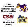 2015 MCSA Team Championships -  Hoehn Cup: Atticus Kelly (Drexel) and Kevin Chen (Williams)