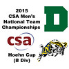 2015 MCSA Team Championships -  Hoehn Cup: Kyle Martino (Dartmouth) and James Kacergis (Navy)