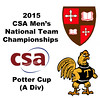 2015 MCSA Team Championships -  Potter Cup: Trinity and St. Lawrence National Championship Celebration