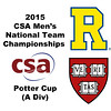 2015 MCSA Team Championships -  Potter Cup: Devin McLaughlin (Harvard) and Michelangelo Bertocchi (Rochester)