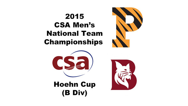 2015 MCSA Team Championships -  Hoehn Cup: Ahmed Abdel Khalek (Bates) and Samuel Kang (Princeton)