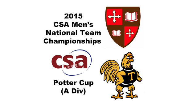 2015 MCSA Team Championships -  Potter Cup: Edgar Zayas (SLU) and Miled Zarazua (Trinity)