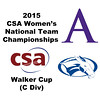 2015 WCSA Team Championships - Walker Cup: Taryn Clary (Amherst) and Madeline Hunsicker (Colby)