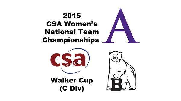 2015 WCSA Team Championships - Walker Cup: Haley McAtee (Amherst) and Virginia Ross (Bowdoin)