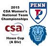 2015 WCSA Team Championships - Howe Cup: Anaka Alankamony (Penn) and Catherine Jenkins (Columbia)