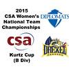 2015 WCSA Team Championships - Kurtz Cup: Elisabeth Money (Drexel) and Emily Caldwell (F&M)