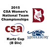 2015 WCSA Team Championships - Kurtz Cup: Nessrine Ariffin (Bates) and Saskia Pownall-Gray (Middlebury)