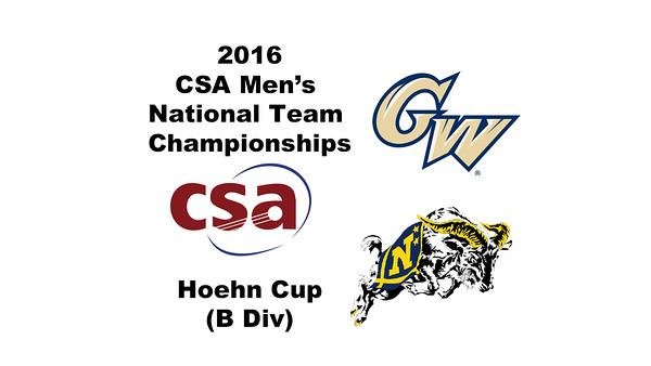 2016 CSA Team Championships -  Hoehn Cup: Mahmoud Abdel-Maksoud (George Washington) and Jack Herold (Navy)