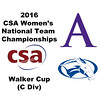 2016 CSA Team Championships -  Walker Cup: Haley McAtee (Amherst) and Helen Bernhard (Colby)