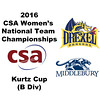 2016 CSA Team Championships -  Kurtz Cup: Mary Fung-A-Fat (Drexel) and Beatrijs Kuijpers (Middlebury)