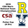 2016 CSA Team Championships -  Potter Cup: Neil Cordell (Rochester) and Sam Fenwick (Yale)