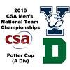 2016 CSA Team Championships -  Potter Cup: Thomas Kingshott (Yale) and Nicholas Harrington (Dartmouth)