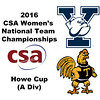 2016 CSA Team Championships -  Howe Cup: Jocelyn Lehman (Yale) and Alexia Echeverria (Trinity)