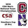 2016 CSA Team Championships -  Hawthorn Cup: Jeremy Reikes (Colgate) and Anthony Bergren-Salinas (Northwestern)