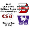 2016 CSA Team Championships -  Conroy Cup: Andrew Krayacich (Denison) and Farzin Habib-Pour (Western Ontario)