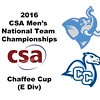 2016 CSA Team Championships -  Chaffee Cup: Brett Raskopf (Tufts) and Santiago Moran (Conn College)