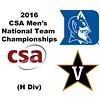 2016 CSA Team Championships -  H Division: R. Beckett-Ansa (Duke) and Parker Dixon (Vanderbilt)