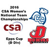 2016 CSA Team Championships -  Epps Cup: Sarah Clothier (Dickinson) and Nina Nalle (Conn College)