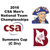 2016 CSA Team Championships - Summers Cup: Carlos Ames (Bates) and Divine Wing (Hobart)