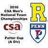 2016 CSA Team Championships -  Potter Cup: Xiaomin Meng (Rochester) and Tyler Odell (Penn)
