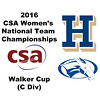 2016 CSA Team Championships - Walker Cup: Florence Robinson (Colby) and Marina Hartnick (Hamilton)