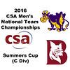 2016 CSA Team Championships -  Summers Cup: Ahmed Abdel Khalek (Bates) and Jamie Ruggiero (Williams)