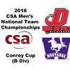 2016 CSA Team Championships -  Conroy Cup: Krishan Rana (Western Ontario) and Vincent Warzecha (Dickinson)