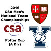 2016 CSA Team Championships -  Potter Cup: Pierson Broadwater (Yale) and Lockie Munro (St. Lawrence)