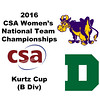 2016 CSA Team Championships -  Kurtz Cup: Madeline Fraser (Dartmouth) and Caroline Hogan (Williams)