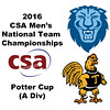 2016 CSA Team Championships -  Potter Cup: Juan Vargas (Trinity) and Carter Robitaille (Columbia)