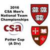 2016 CSA Team Championships -  Potter Cup: Amr Khaled Khalifa (St. Lawrence) and David Ryan (Harvard)