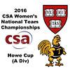 2016 CSA Team Championships -  Howe Cup: Alyssa Mehta (Harvard) and Julia Le Coq (Trinity)