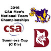 2016 CSA Team Championships -  Summers Cup: Ahmed Abdel Khalek (Bates) and Jamie Ruggiero (Williams)
