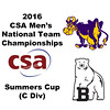 2016 CSA Team Championships - Summers Cup: John Fitzgerald (Williams) and Matthew Cooper (Bowdoin)