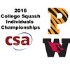 2016 CSA Individual Championships - Ramsay Cup: Laila Samy (Wesleyan) and Maria Elena Ubina (Princeton)