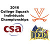 2016 CSA Individual Championships - Holleran Cup: Ryan Morgan (Drexel) and Carey Danforth (Virginia)