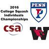 2016 CSA Individual Championships - Ramsay Cup: Reeham Sedky (Penn) and Laila Samy (Wesleyan) - Game 3