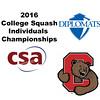2016 CSA Individual Championships - Holleran Cup: Charlotte Knaggs (Cornell) and Sherilyn Yang (F&M)