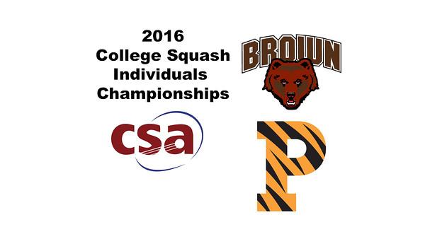 2016 CSA Individual Championships - Holleran Cup: Rachel Leizman (Princeton) and Emily Richmond (Brown)
