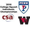2016 CSA Individual Championships - Ramsay Cup: Reeham Sedky (Penn) and Laila Samy (Wesleyan) - Game 2