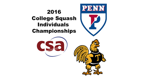 2016 CSA Individual Championships - Ramsay Cup: Kanzy El Defrawy (Trinity) and Reeham Sedky (Penn) - Game 4