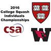 2016 CSA Individual Championships - Ramsay Cup: Laila Samy (Wesleyan) and Sabrina Sobhy (Harvard)