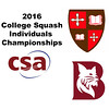 2016 CSA Individual Championships - Pool Trophy: Ahmed Abdel Khalek (Bates) and Moustafa Bayoumy (St. Lawrence)