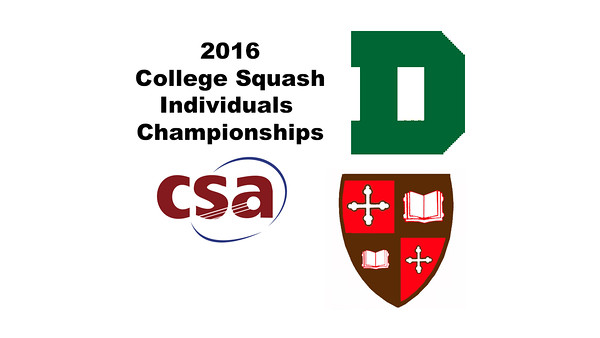 2016 CSA Individual Championships - Holleran Cup: Rebecca Brownell (Dartmouth) and Zoe Kagan (St. Lawrence)