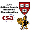 2016 CSA Individual Championships - Ramsay Cup: Kanzy El Defrawy (Trinity) and Kayley Leonard (Harvard) - Game 3