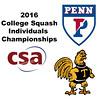 2016 CSA Individual Championships - Ramsay Cup: Yan Xin Tan (Penn) and Raneem Sharaf (Trinity)