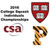 2016 CSA Individual Championships - Ramsay Cup: Kayley Leonard (Harvard) and Olivia Fiechter (Princeton)
